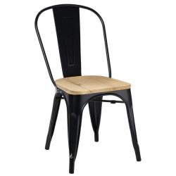 Krzesło Paris Wood czarny jesion - D2.DESIGN