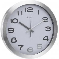 Zegar Silfur biały - Intesi