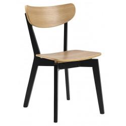 Krzesło Roxby naturalne czarne - ACTONA