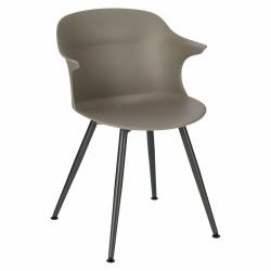 Krzesło Skal antracytowe - Intesi