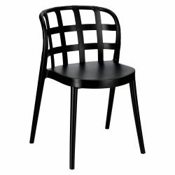 Krzesło Molino czarne - Intesi