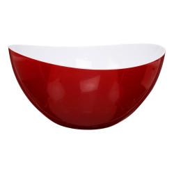 Miska Turp biało czerwona - Intesi