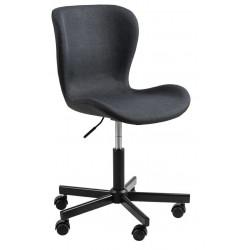 Fotel biurowy Batilda antracyt - ACTONA