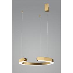 Lampa wisząca złoty ring  LUCIANO 1L - Auhilon