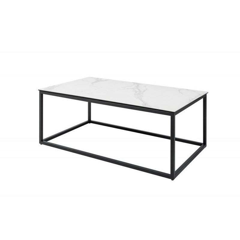 INVICTA stolik kawowy SYMBIOSE 100 cm - ceramika, szkło, metal
