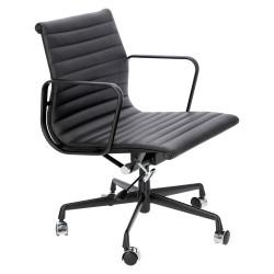 Fotel biurowy CH1171T-B czarna skóra, cz arny - D2.DESIGN