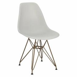 Krzesło P016 PP Gold light grey - D2.DESIGN