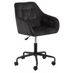 Fotel biurowy Brooke VIC szary ciemny - ACTONA
