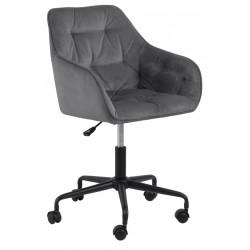 Fotel biurowy Brooke VIC szary jasny - ACTONA
