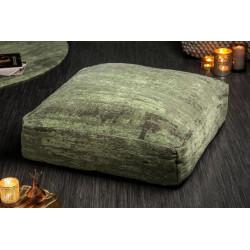 INVICTA poduszka podłogowa MODERN ART - 70 cm zielona, bawełna, poliester