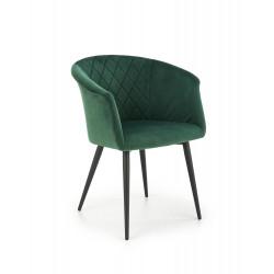 K421 krzesło ciemny zielony - Halmar