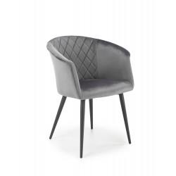 K421 krzesło popielaty - Halmar