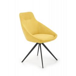 K431 krzesło żółty - Halmar