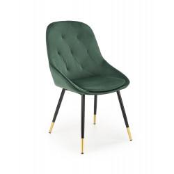 K437 krzesło ciemny zielony - Halmar