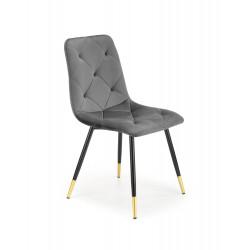 K438 krzesło popielaty - Halmar
