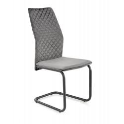 K444 krzesło popielaty - Halmar