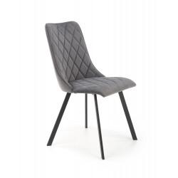 K450 krzesło popielaty - Halmar
