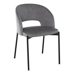 K455 krzesło popielaty - Halmar