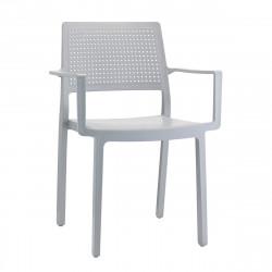 Krzesło Emi Arm szare - SCAB Design