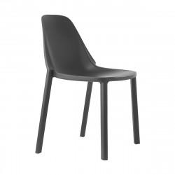 Krzesło Piu antracytowe - SCAB Design