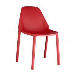 Krzesło Piu czerwone - SCAB Design