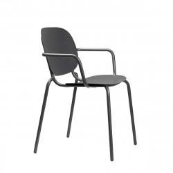 Krzesło SI-SI Arm antracyt - SCAB Design