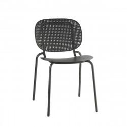 Krzesło SI-SI Dots Arm antracyt - SCAB Design