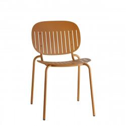 Krzesło SI-SI w paski terraccota - SCAB Design