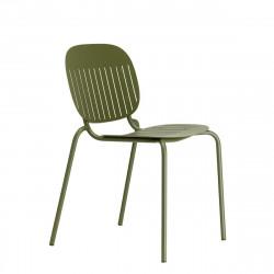 Krzesło SI-SI w paski zielone - SCAB Design