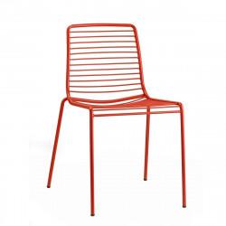 Krzesło Summer czerwone - SCAB Design