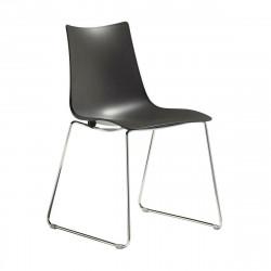 Krzesło Zebra antracyt sledge - SCAB Design