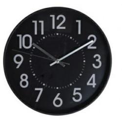 Zegar Batui czarny - Intesi