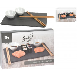 Zestaw do sushi STONE 7 elementów - Intesi