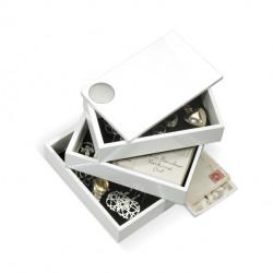 Szkatułka na biżuterię, biała, SPINDLE - Umbra b.v.