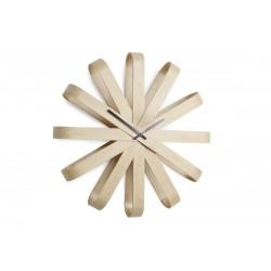 Zegar ścienny, drewniany, RIBBON - Umbra b.v.