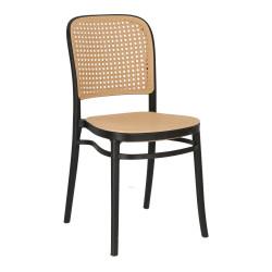 Krzesło Antonio czarne - Intesi
