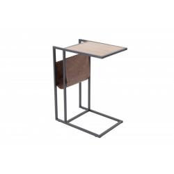 INVICTA stolik LOFT 47 cm - MDF, metal